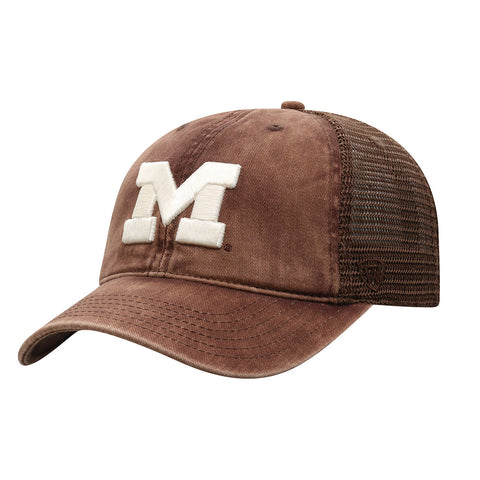 UM Block 'M' Chips Adjustable Hat