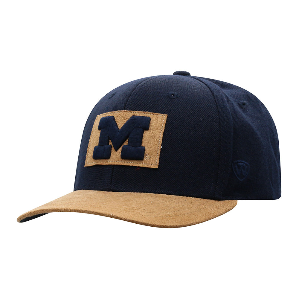 UM Block 'M' Hide Patch Adjustable Hat