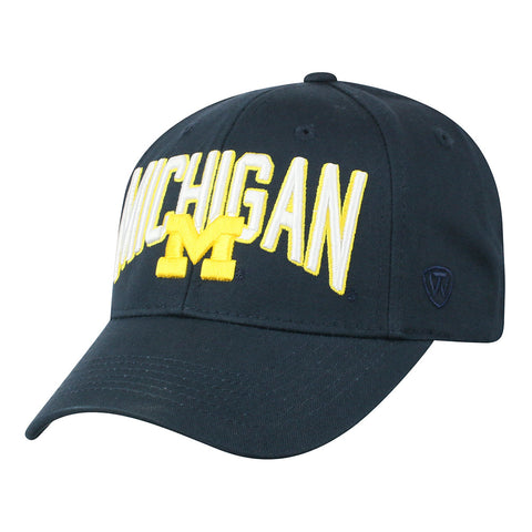 UM Michigan Adjustable Hat