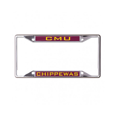 CMU Chippewas License Plate Frame