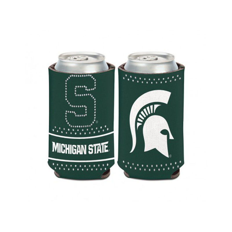 MSU Bling Can Cooler