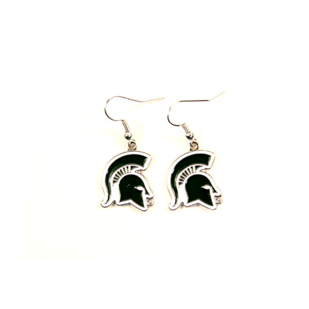 Earrings Spartan Head