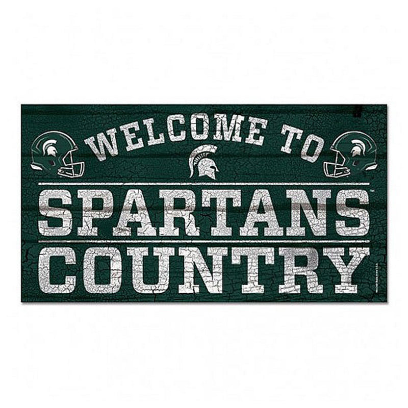 MSU Spartan Country Sign