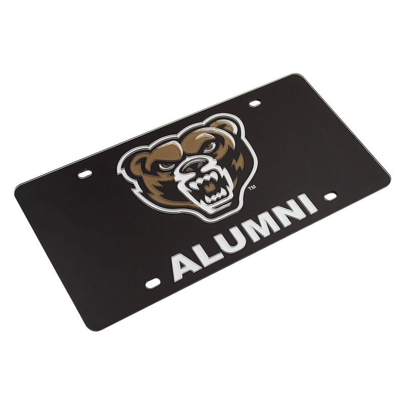 Oakland Alumni License Plate