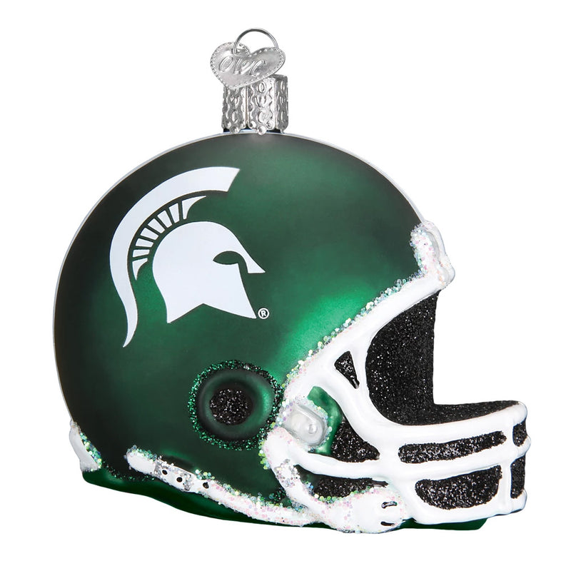MSU Football Helmet Ornament