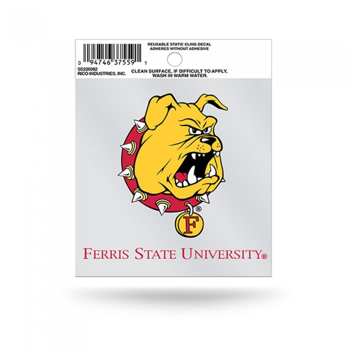 Ferris State Small Static Decal