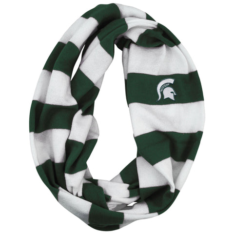 MSU Striped Rugby  Scarf