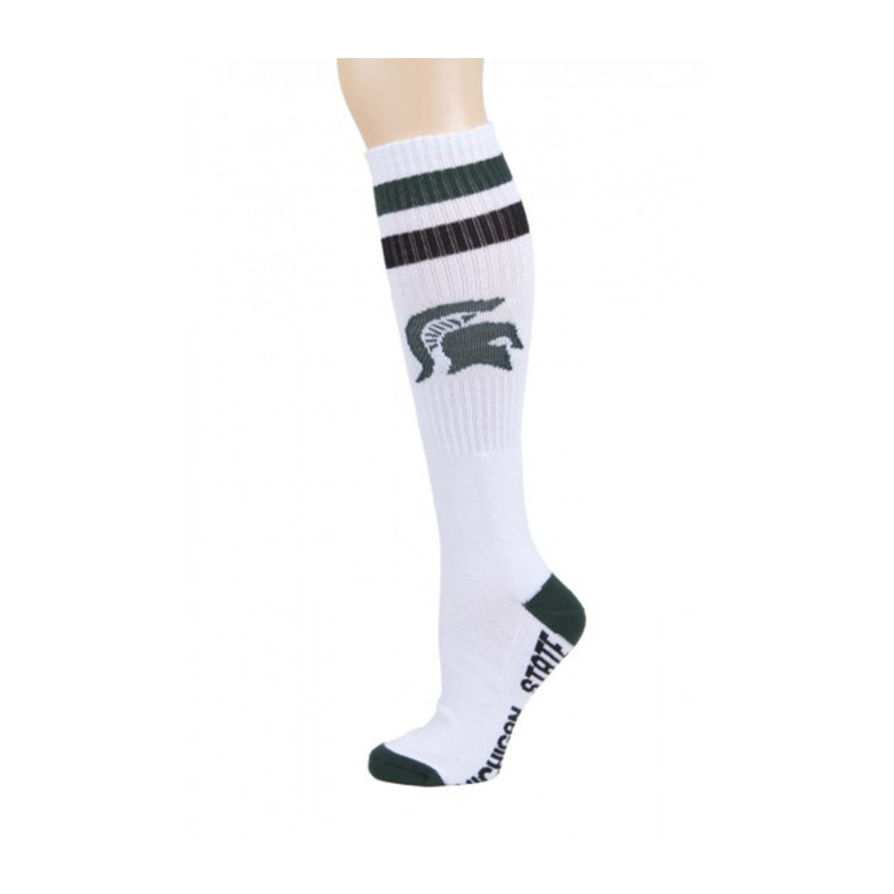 Tube MSU White Socks