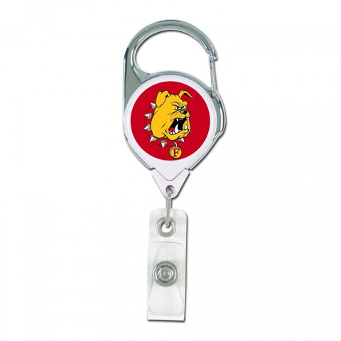 Retractable Ferris State Badge Holder