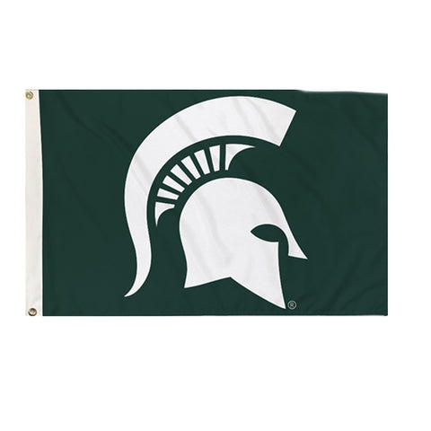 2' x 3' Spartan Head MSU Flag
