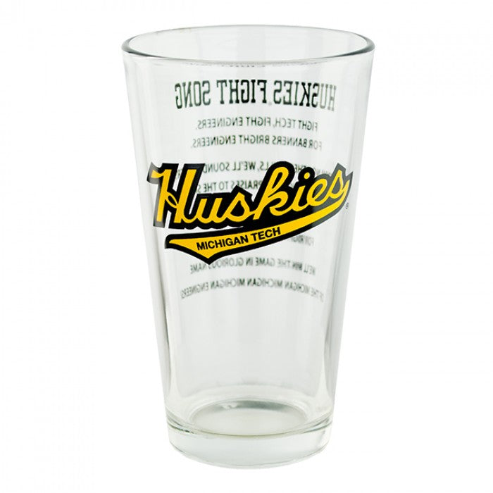 Flight Song MTU Pint Glass