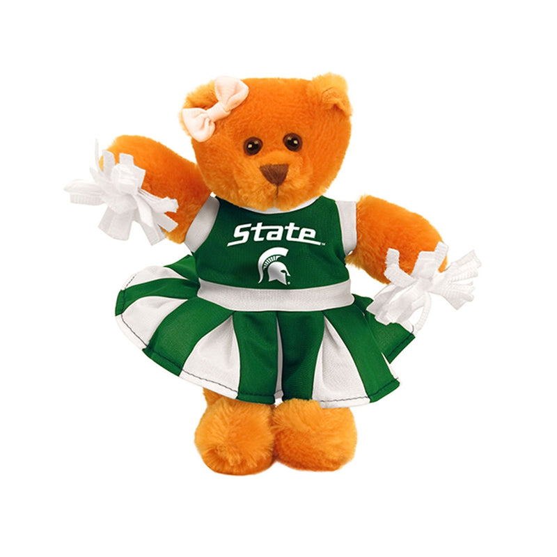MSU Cheerleader Bear