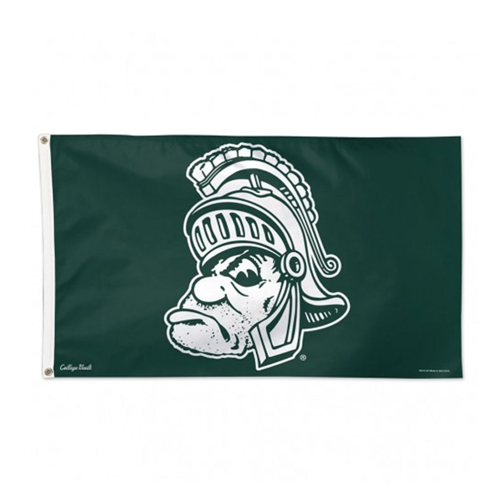 3' x 5' Gruff Sparty MSU Deluxe Flag
