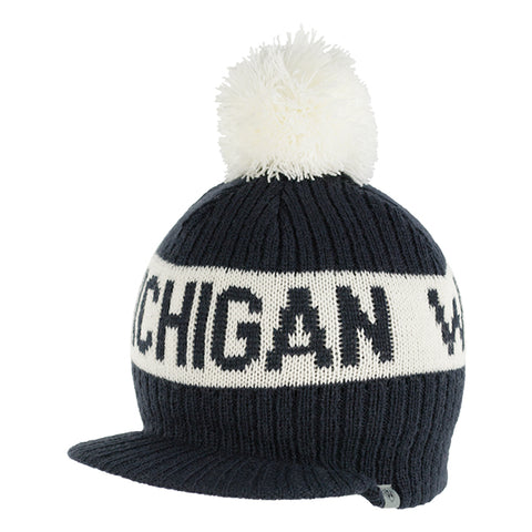 UM Old Course Pom Knit Hat
