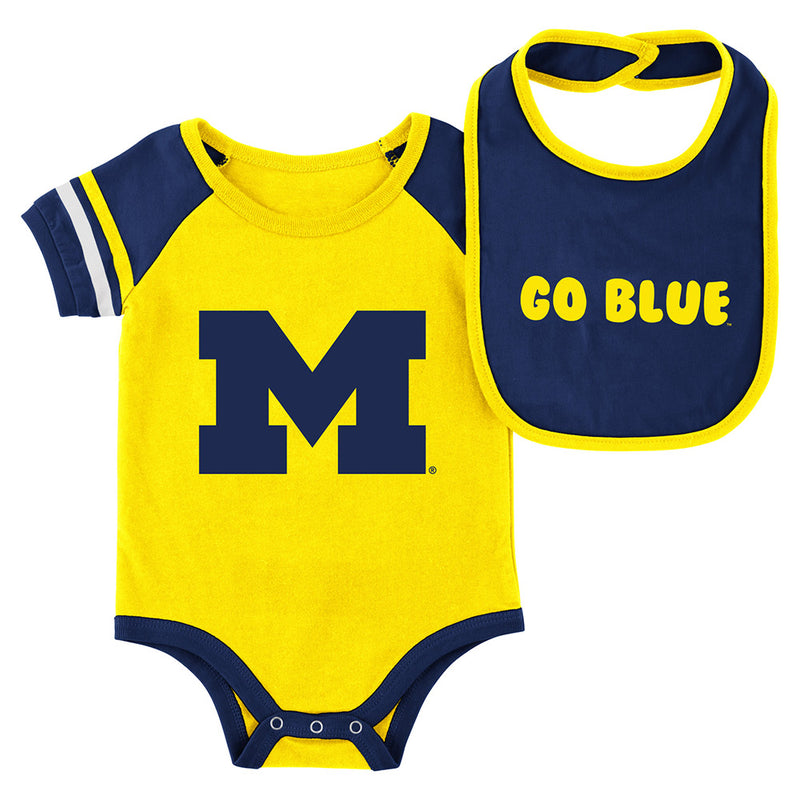 Infant UM Onesie & Bib Set