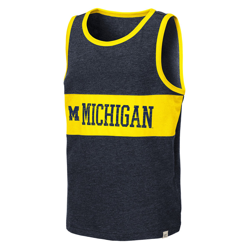 Youth Sleeveless UM T-Shirt