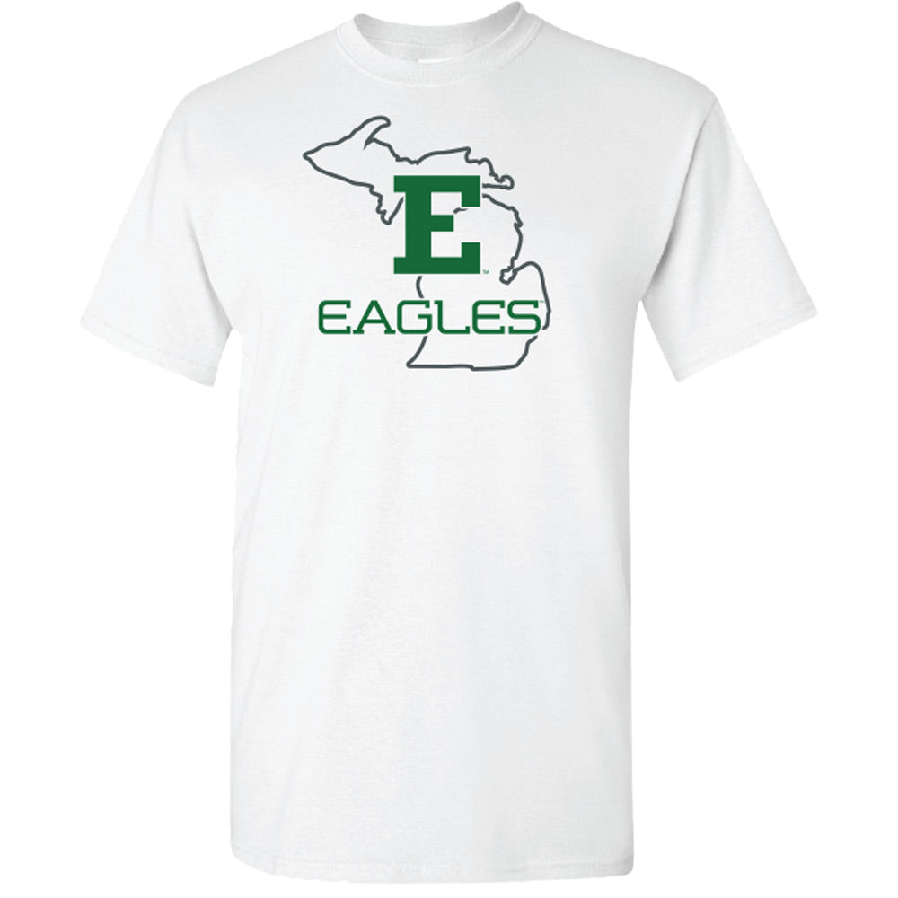Eagles State Outline EMU T-Shirt