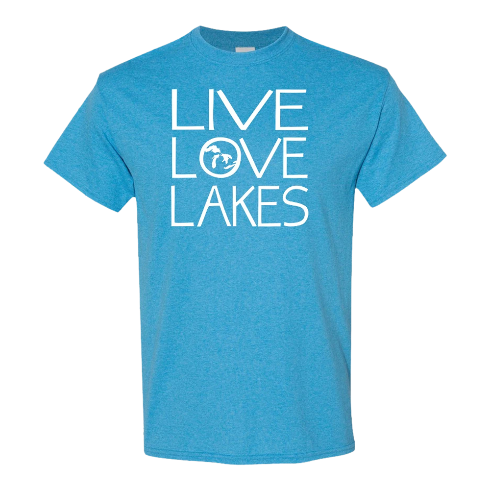 Live Love Lakes GR8ST8 LLL T-Shirt