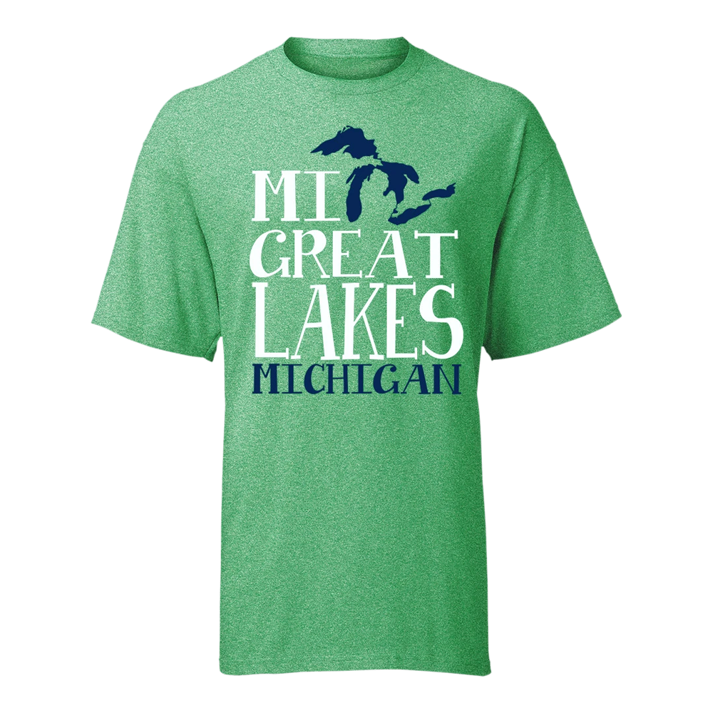 Michigan Great Lakes GR8ST8 MGL T-Shirt