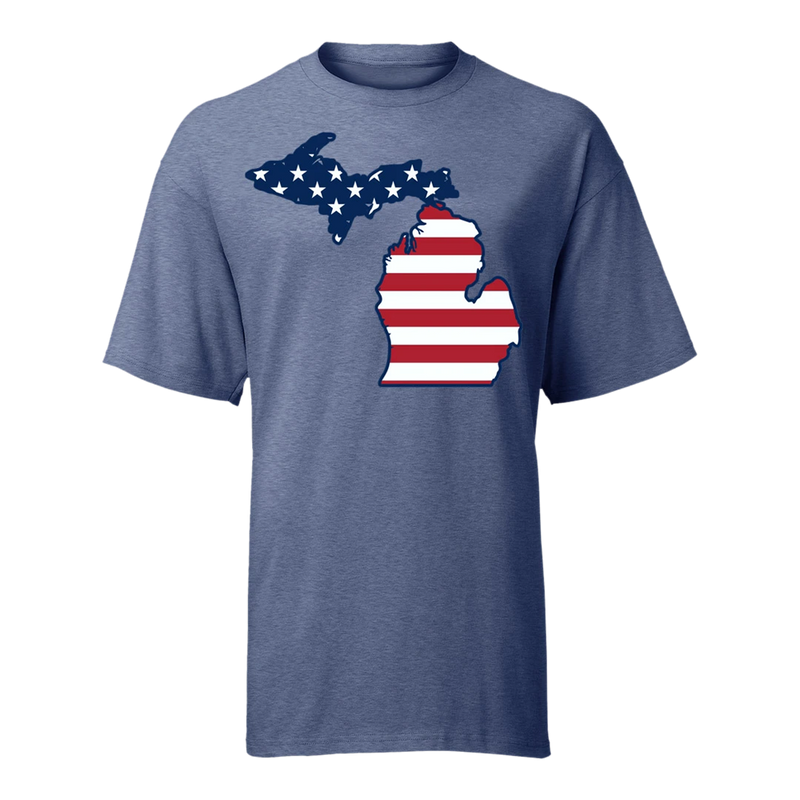 Outline Flag GR8ST8 Flag T-Shirt