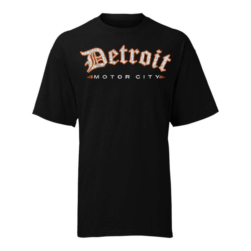 Old English Motor City GR8ST8 OEMC T-Shirt