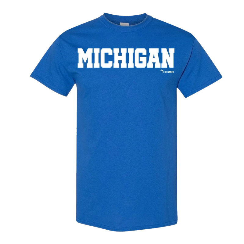 Block Michigan GR8ST8 BLOCK T-Shirt