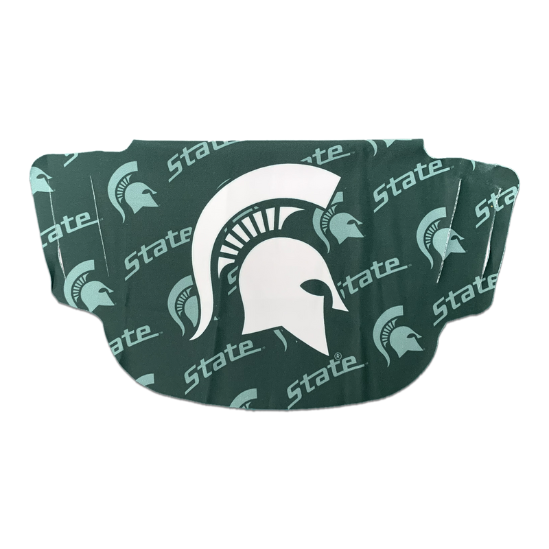 Face Mask Logo W/ Shadow MSU