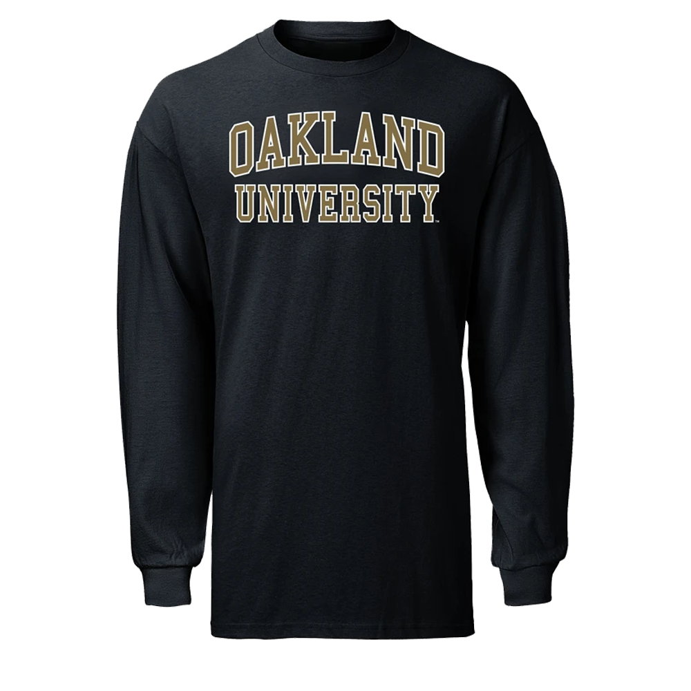Arched 2 Color Oakland A2T Long Sleeve T-Shirt