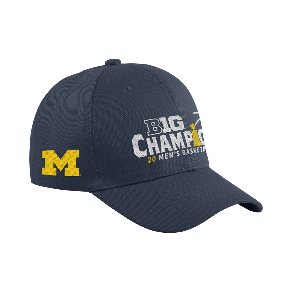 2021 B1G Conference MBB Champs hat