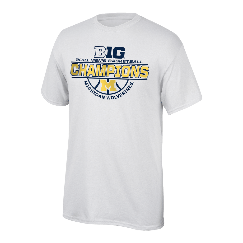 2021 B1G Conference MBB Champs t-shirt