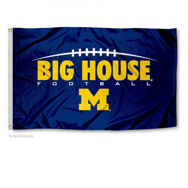 3' x 5' Big House UM Flag