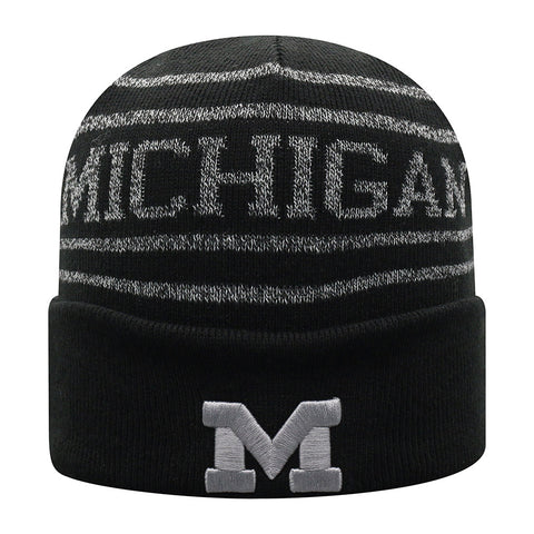 UM Michigan Cuffed Knit Hat