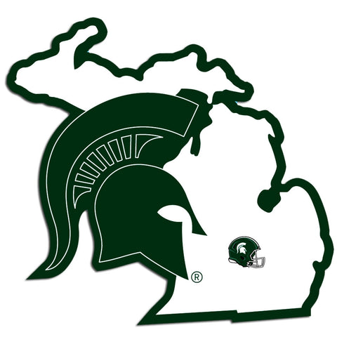 "5"" MSU Home State Decal"