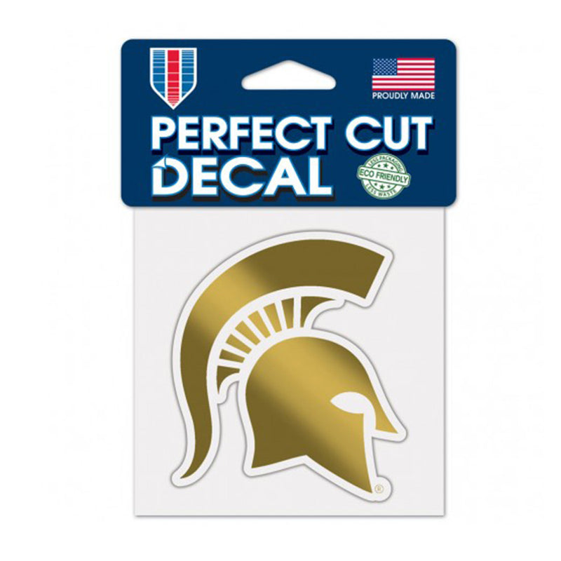 MSU Gold Spartan Head Decal