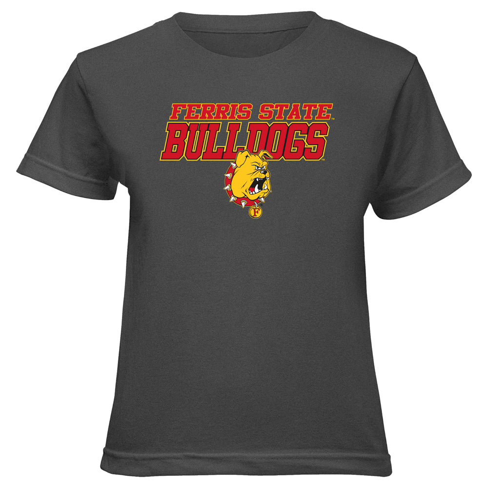 Italic Block Letter Ferris State IBL Youth T-Shirt