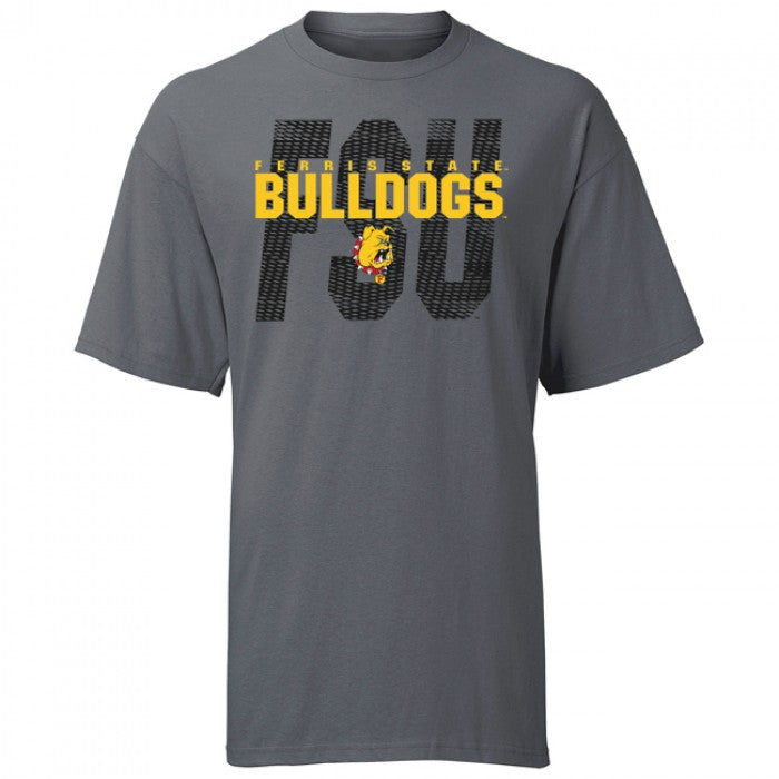 Block Cut Out Ferris State TXLB T-Shirt