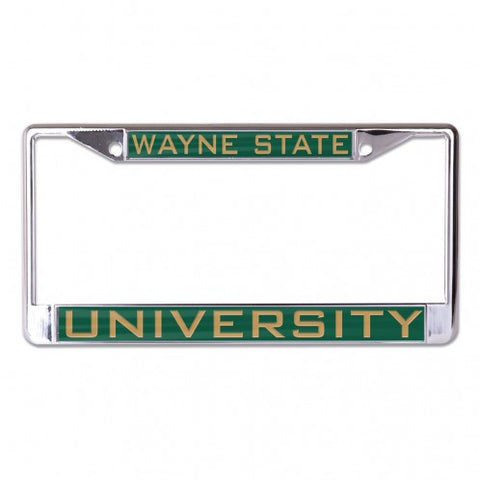 Wayne State University License Plate Frame