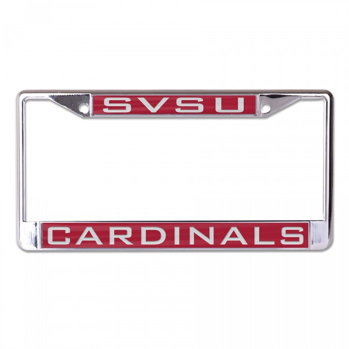 Inlaid SVSU License Plate Frame