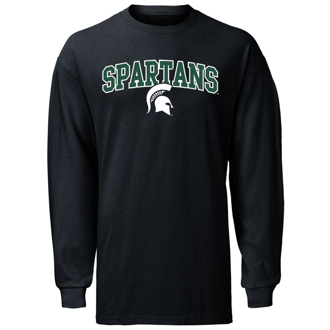 Even Split MSU JS2 Long Sleeve T- Shirt
