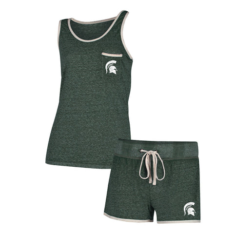 MSU Ladies Short & Tank Set