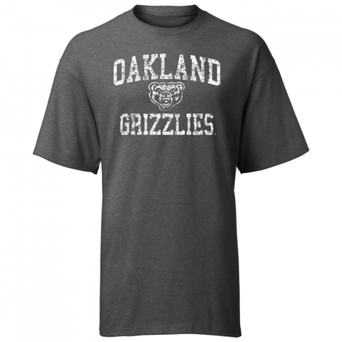 Weathered Arched Logo Oakland ASW T-Shirt