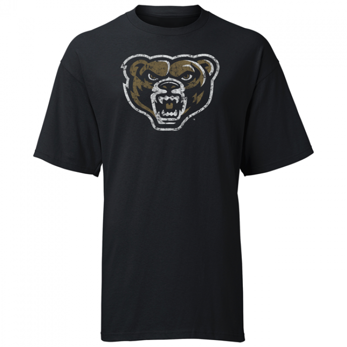 Distressed Bear Head Oakland OLW T-Shirt