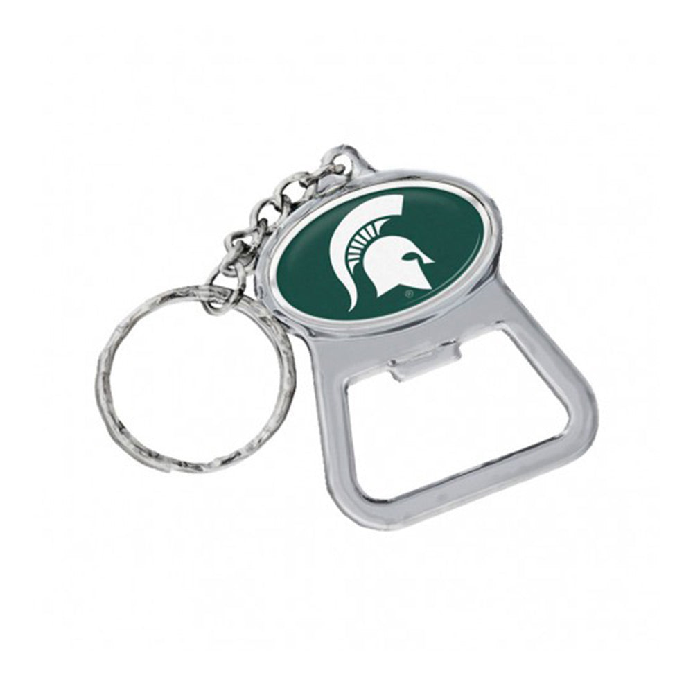 MSU Keychain Bottle Opener