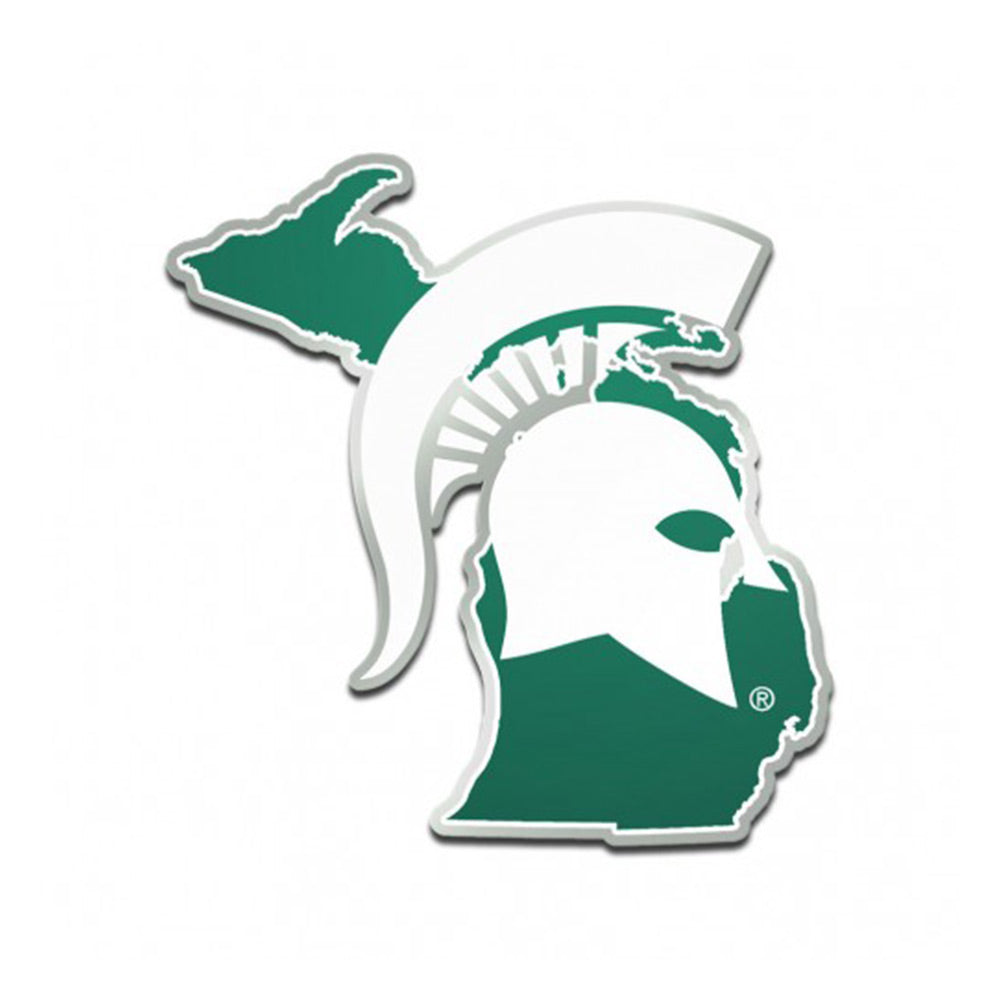 MSU State of Michigan Emblem