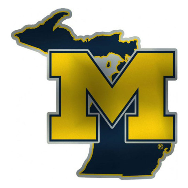 UM State Of Michigan Emblem