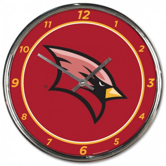 SVSU Chrome Clock
