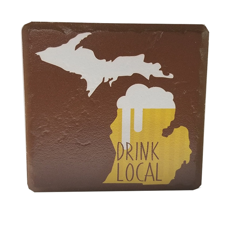 GR8ST8 Drink Local Coaster