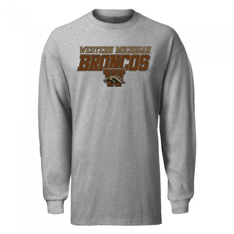 Italic Block Letter WMU IBL Long Sleeve T-Shirt