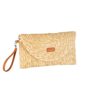 Cartera paja natural Lavinia