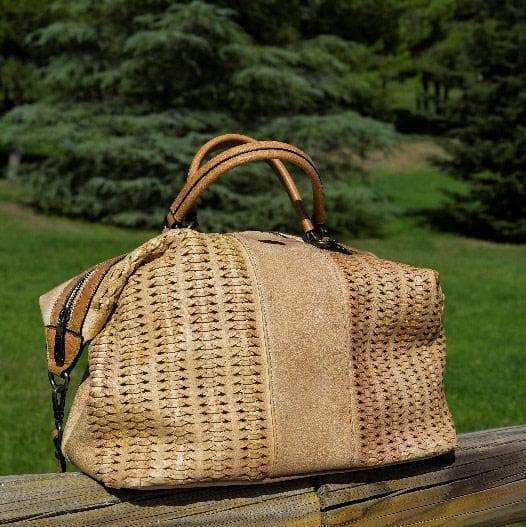 NOCO complementos Bolso Bowling BEIGE Bolso bowling REYINT